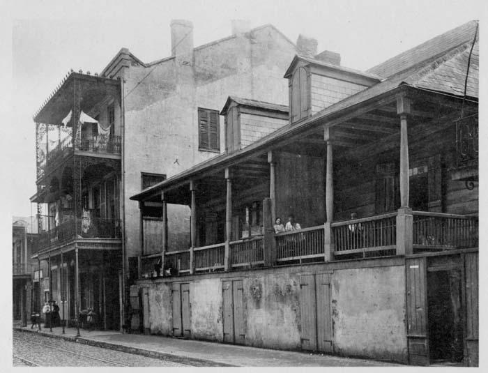 Historic photograph of Madame John's Legacy