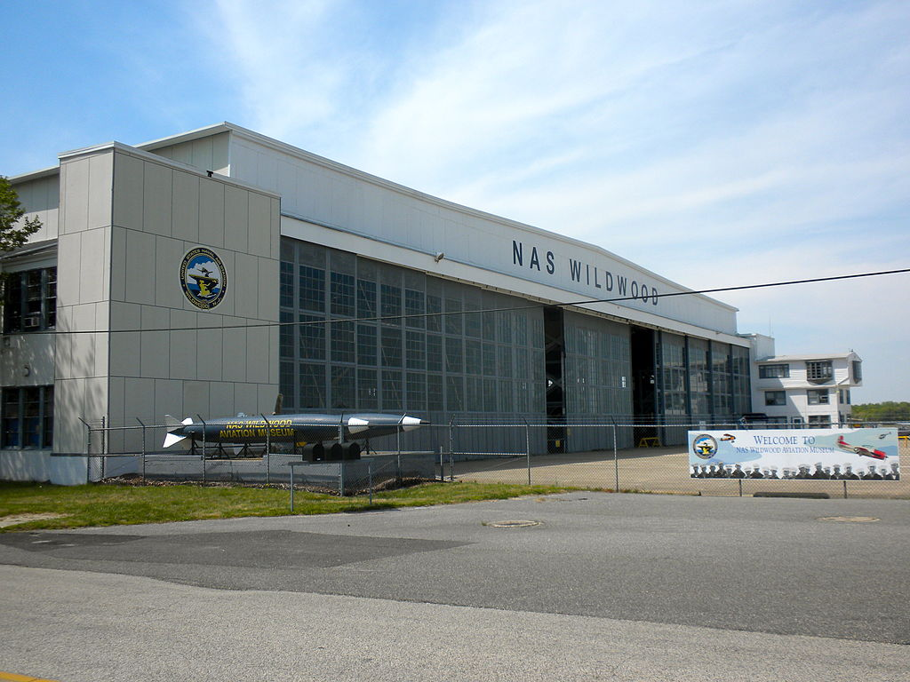 Hangar no. 1, now the Naval Air Station Wildwood Aviation Museum.