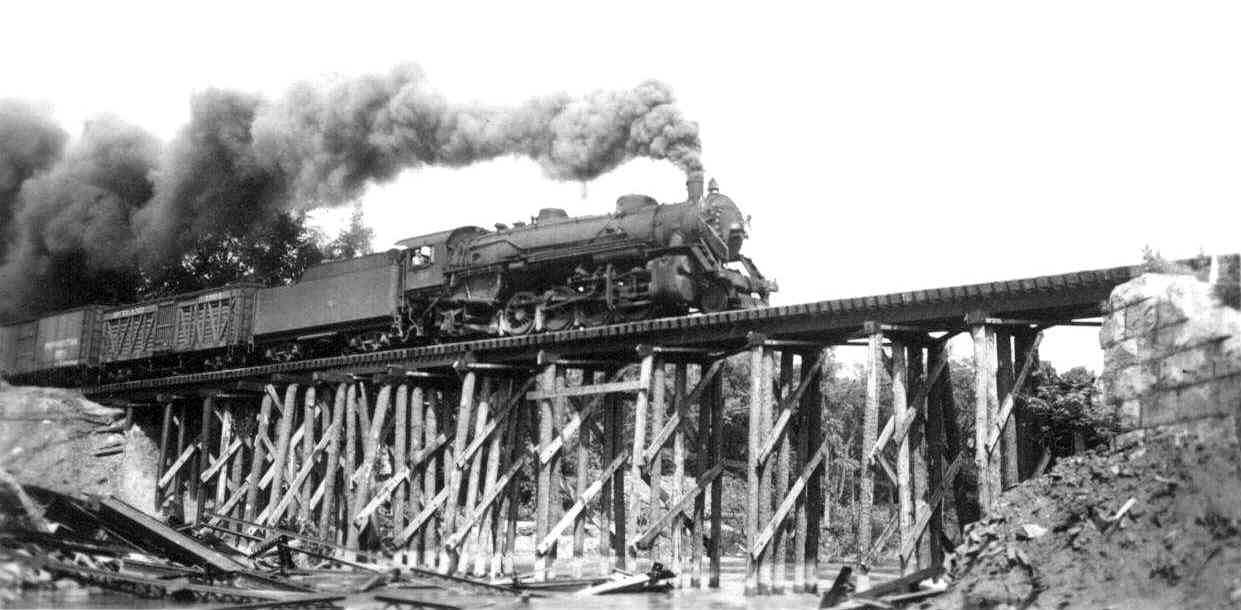 Old Rutland train