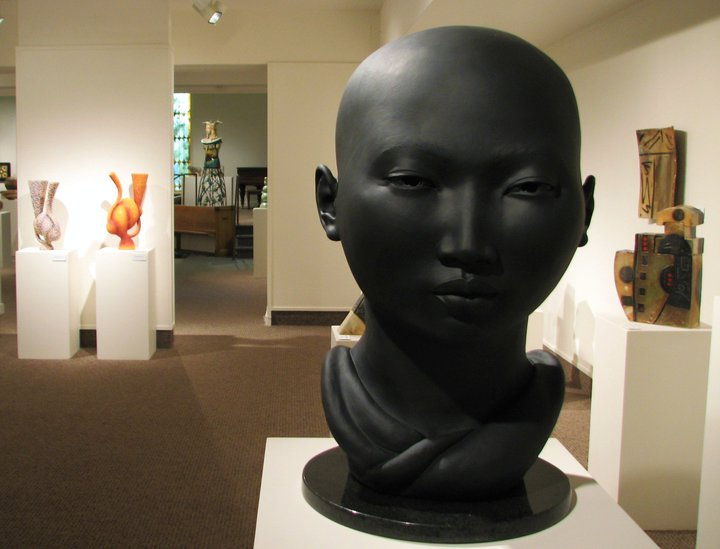 Exhibition inside of the Foothills Art Center