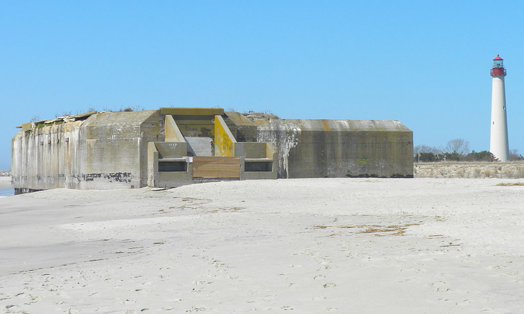 A view of Battery 223.
