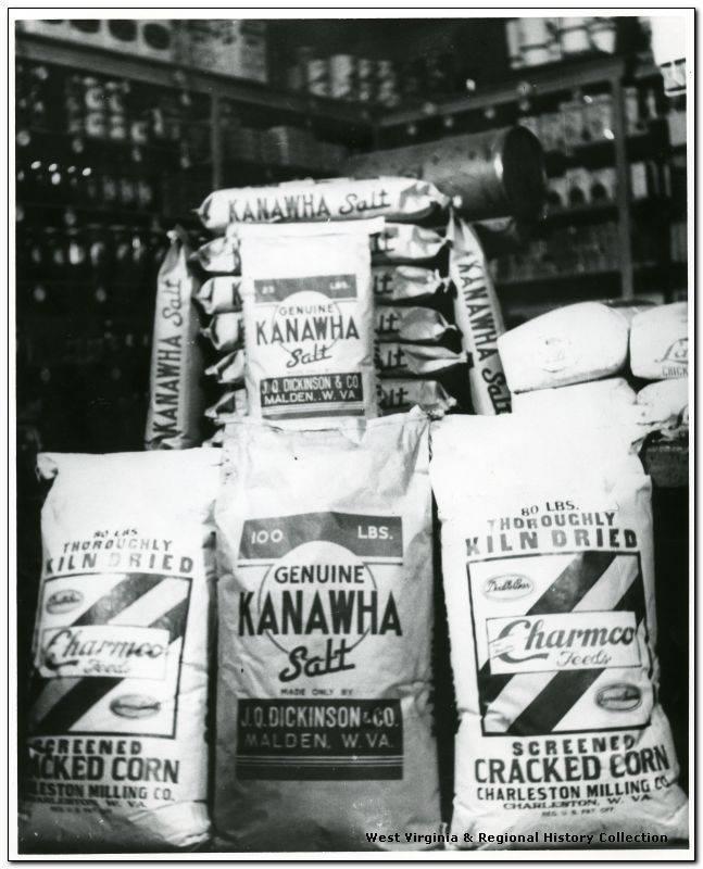 Genuine Kanawha Salt Bags