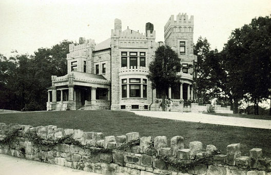 Ashlar Hall as it appeared in 1912.