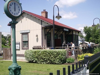 The Magnolia Historical Train Station Museum and Library