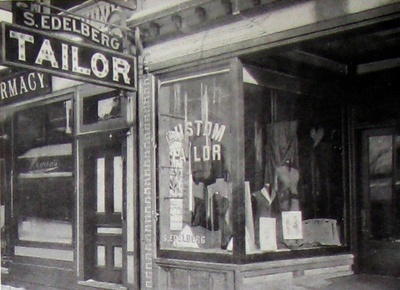 Sam Edelberg's Fur Shop (c. 1910)