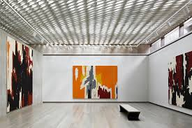 Interior of the Clyfford Still Museum
