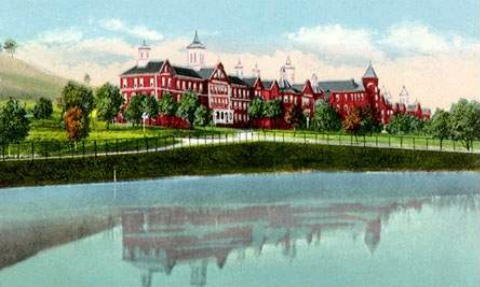 Postcard of Spencer State Hospital