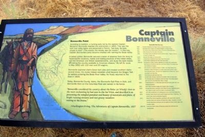 Captain Bonneville Marker