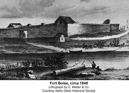 Fort Boise, circa 1849