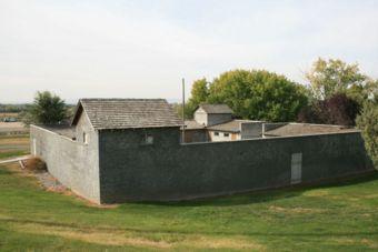 Fort Boise replica in Parma