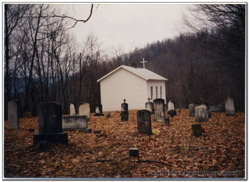 View of St. Colman's Chapel and Cemetery