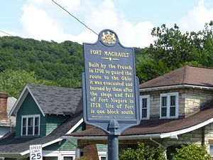 Fort Machault - Image from Pennsylvania Historical Markers