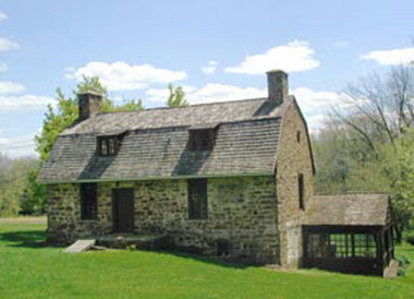 The stone house on the Bouman-Stickney Farmstead