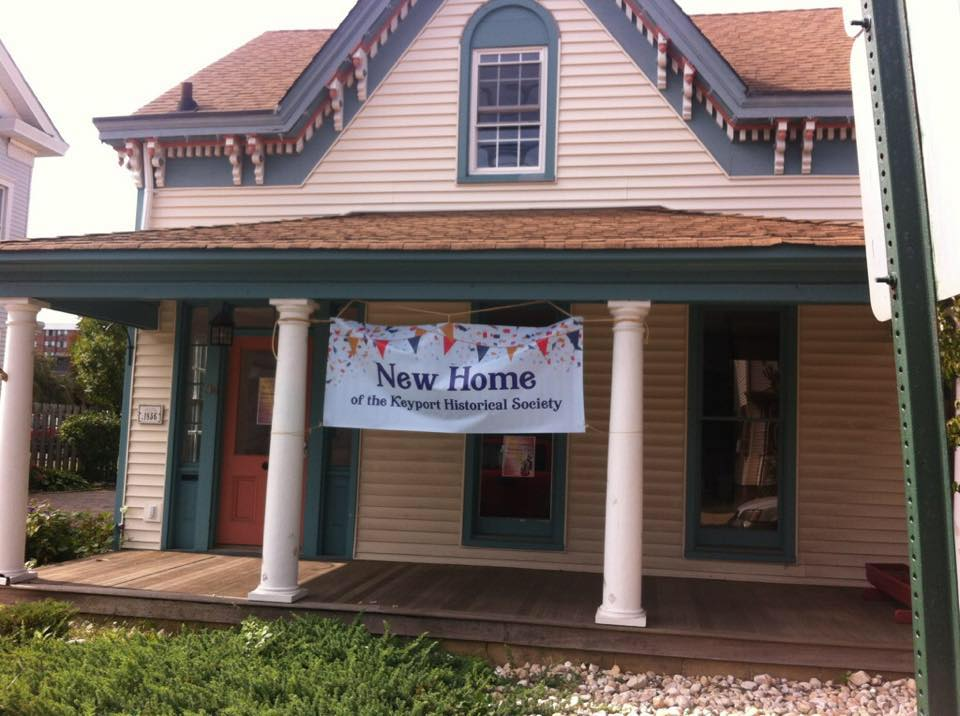 The new location of the Keyport Historical Society