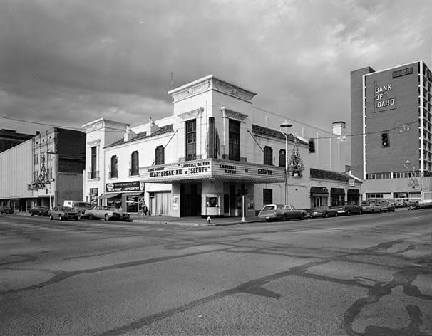 Ada Theatre in Boise, Idaho, 1973