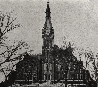 The Carrollton Building was completed in 1875 and served as the home of Maryland State Normal School until 1915