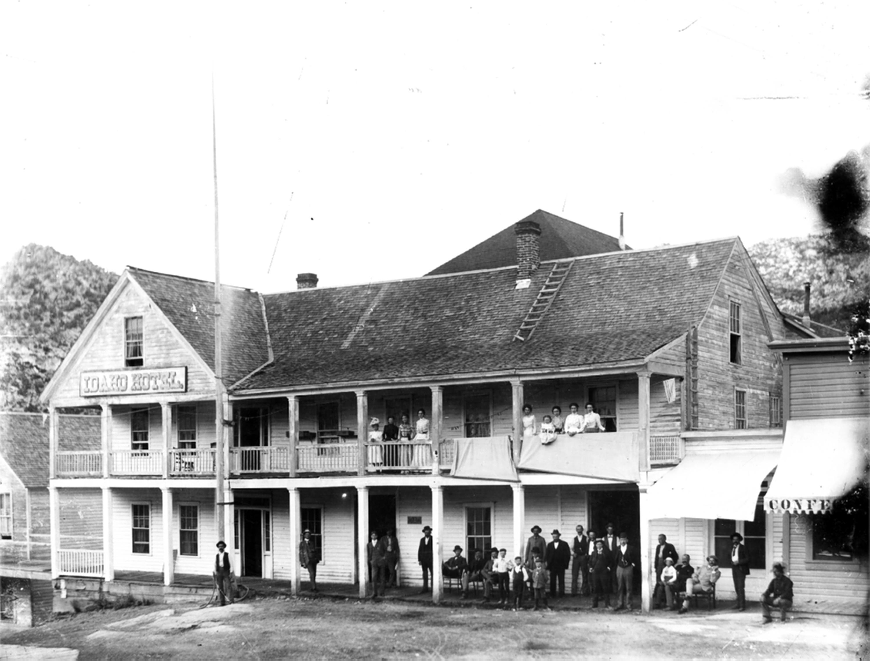 Idaho Hotel, built in Silver City in 1866
