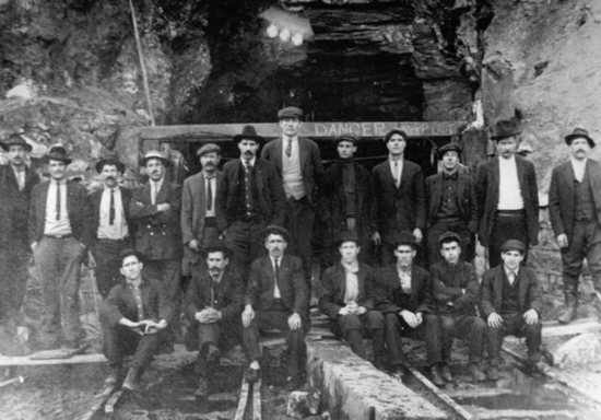 Survivors of the mine explosion