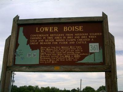 Lower Boise Marker