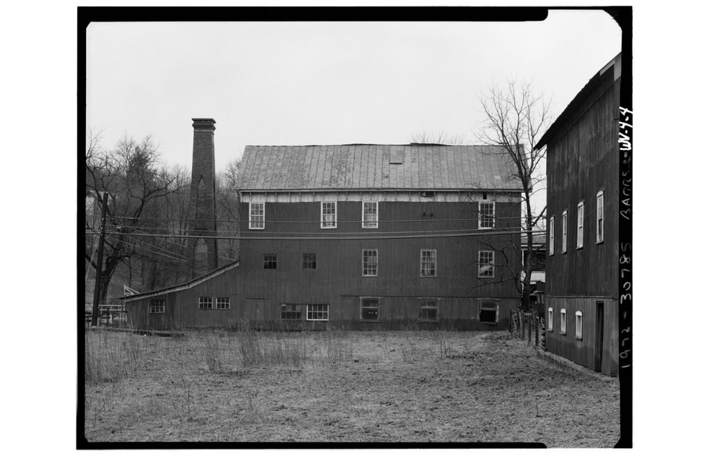 Photograph of mill in 1972