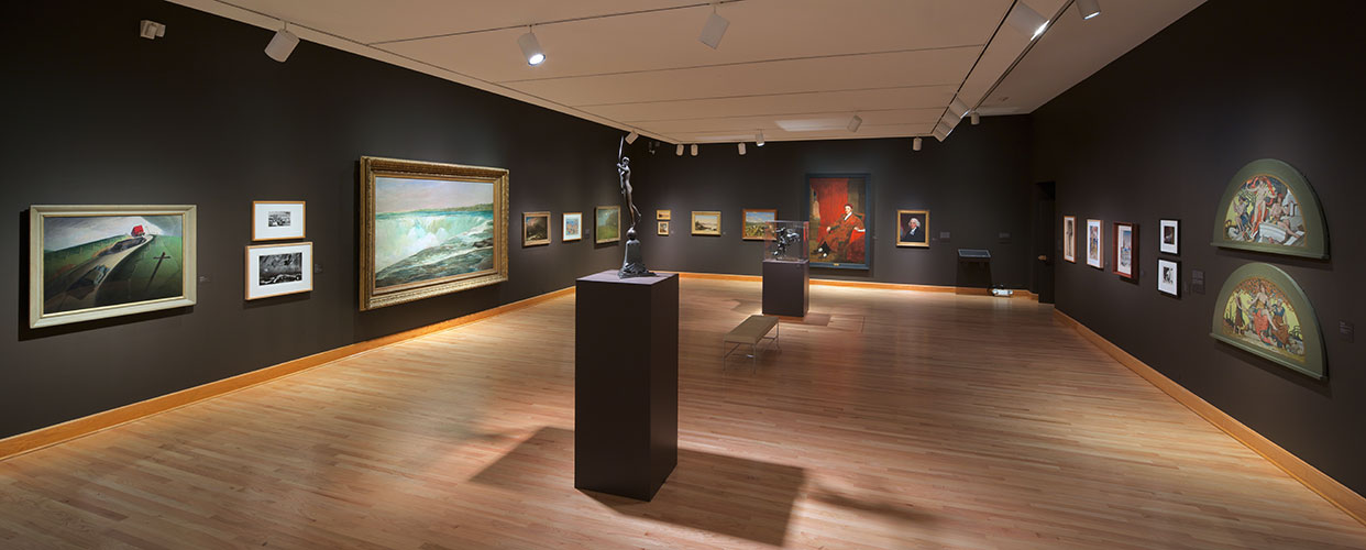A look at one of the museum's galleries
