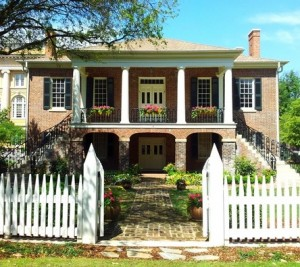 Confederate General Josiah Gorgas lived at this residence during his tenure as the 7th president of the University.