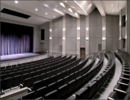 Photograph of the theatre within the CCAC