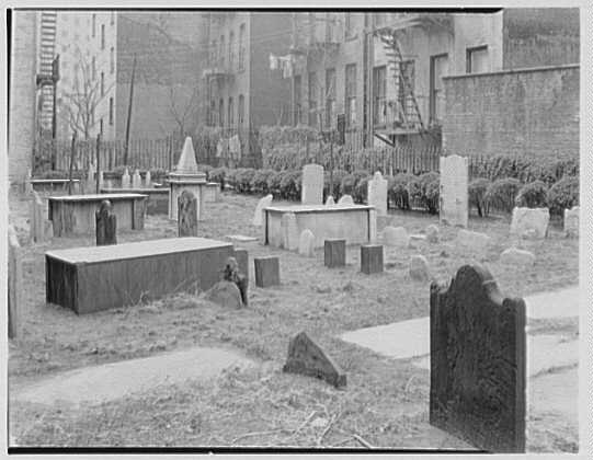 First Cemetery of Shearith Israel, 1952