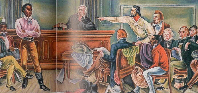 The Amistad Case in court