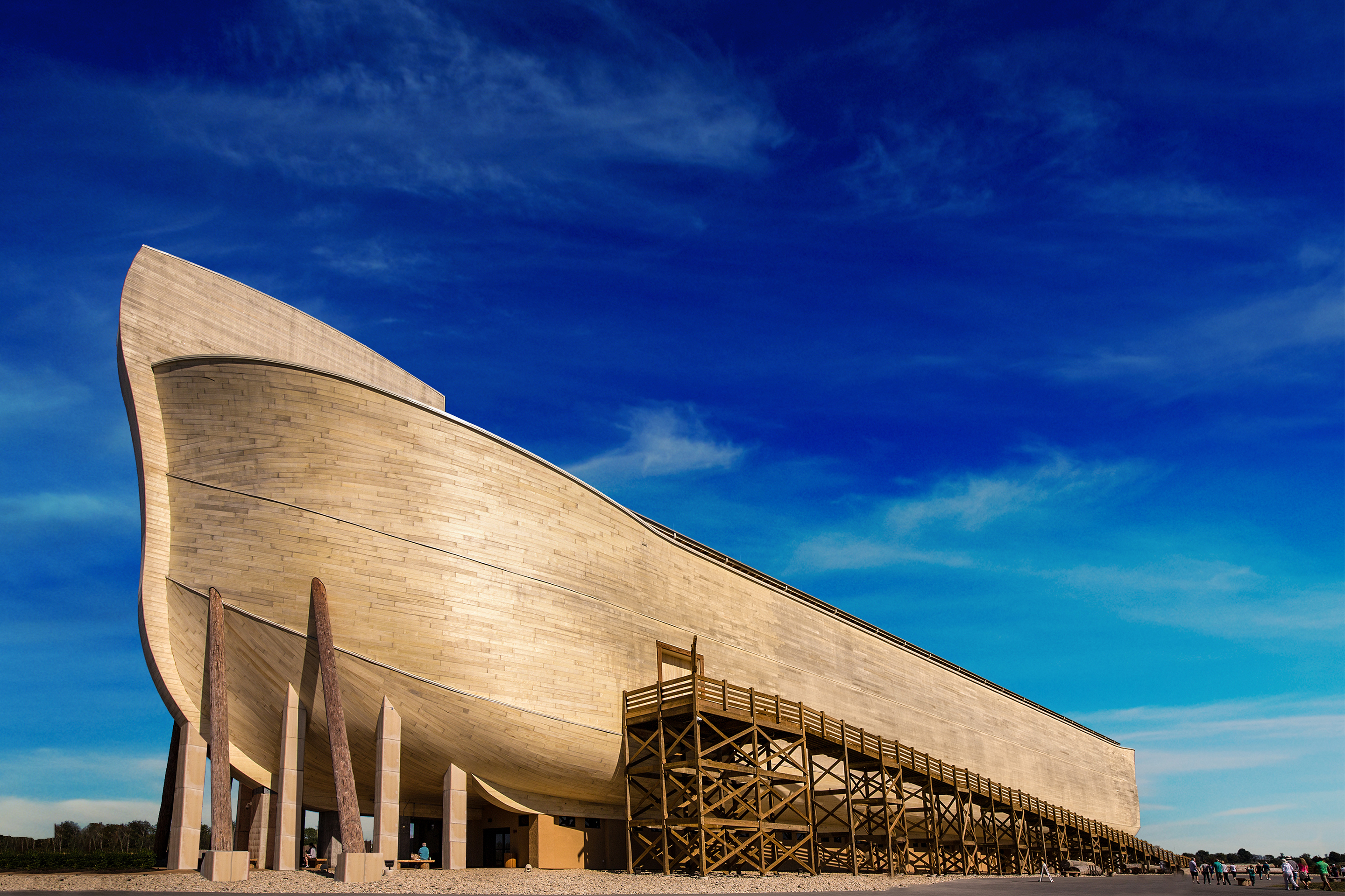 AiG's Ark Encounter, located 45 miles away in Grant County, Kentucky