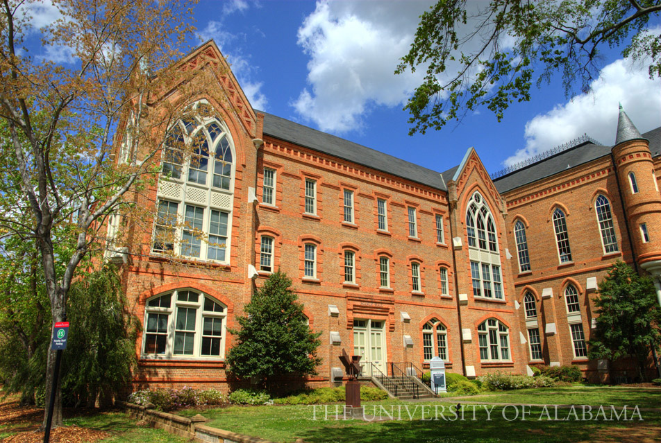 Current photo of Manly Hall by The University of Alabama