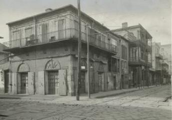 The Absinthe House in the 1890s.