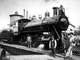 1902 Baldwin Locomotive at Cape Charles