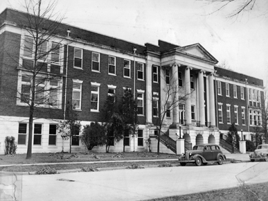 Nott Hall circa 1920s.