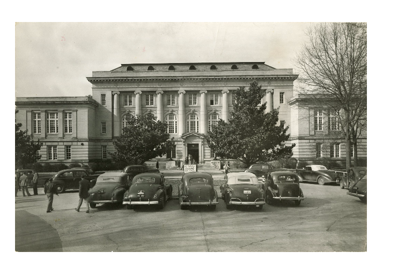 This is an image of Morgan Hall in 1944.