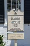 Sign Marking the Dabbs House