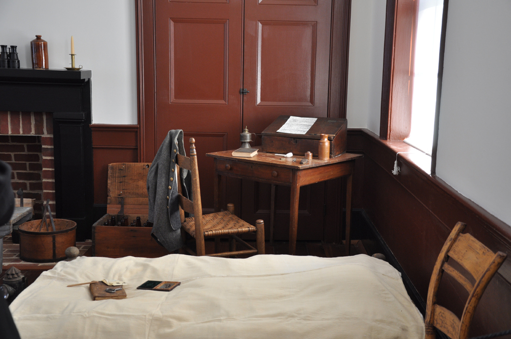 Room that served Robert E. Lee during his 1862 stay.