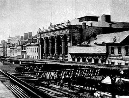 The Thalia Theatre circa 1890s (image from Manhattan Unlocked)