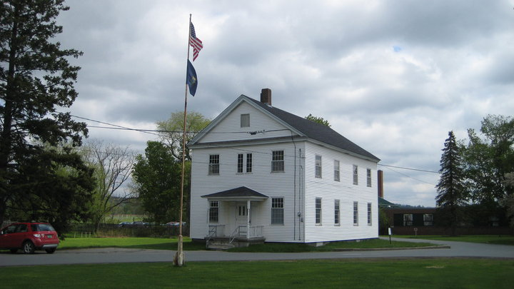 "The museum is located in this building, which was constructed in 1840 as part of the Derby Academy and known as ""Old North Hall."""