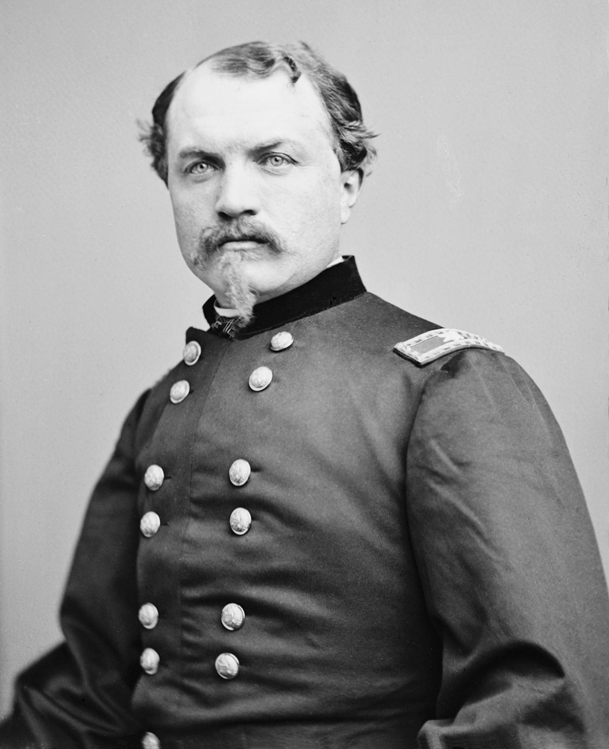 Brigadier General William Woods Averell. One of the Union Army's most accomplished cavalrymen of the war, he later clashed with General Phil Sheridan and was relieved of command in 1864. Library of Congress.