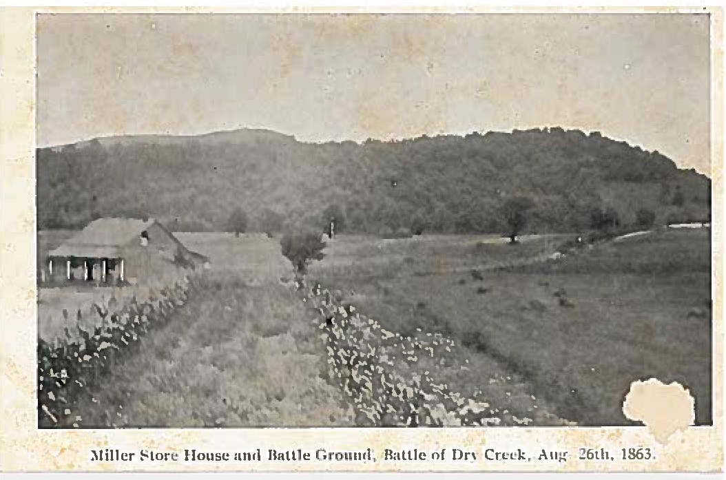This image of the battlefield was taken shortly after the clash.