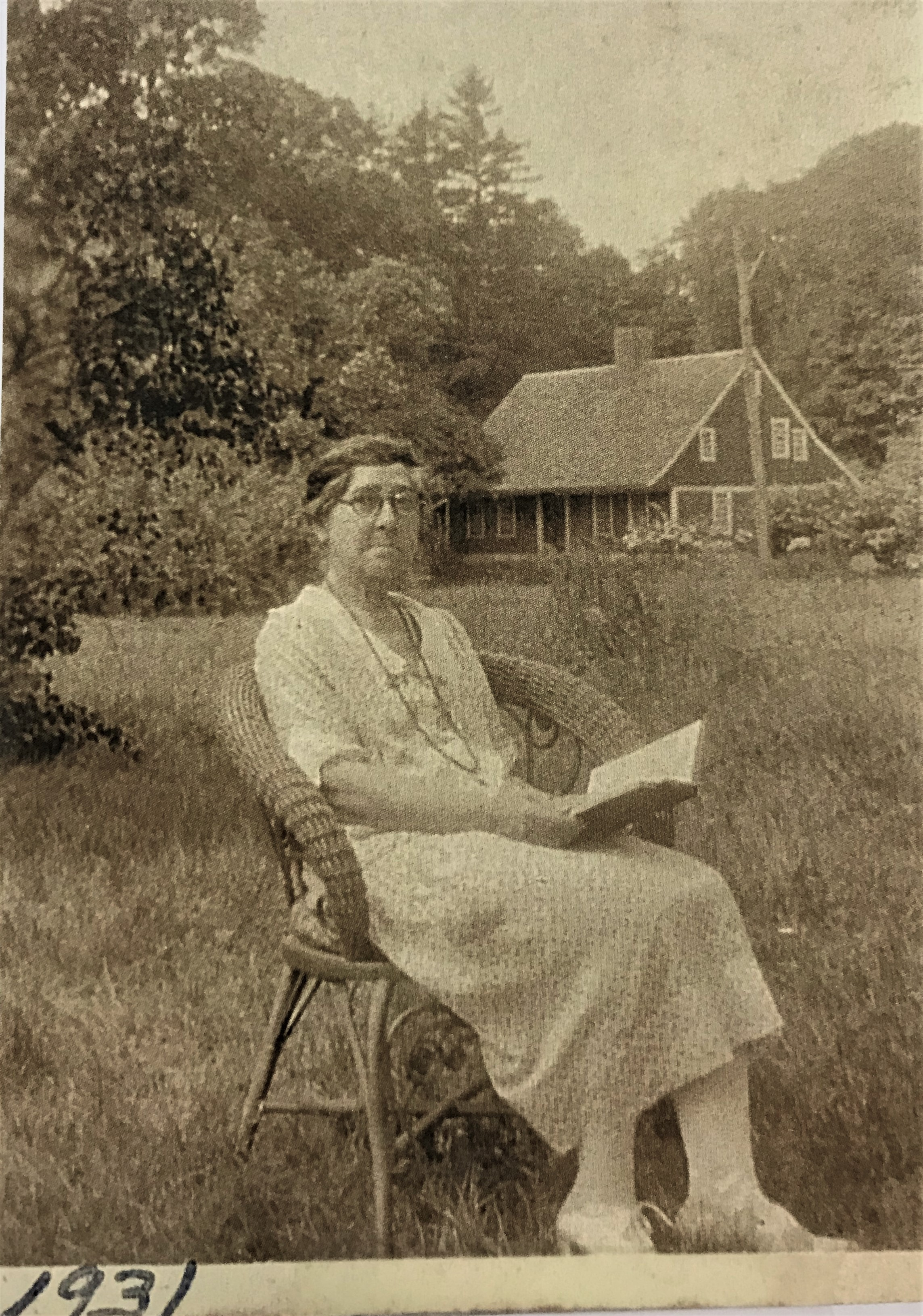 The last of the direct descendants to live in the Old Red House, Carolyn Dickerman (1868-1958), was an active member of the Hamden Historical Society and served as summer curator of the house until shortly before her death.