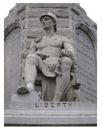 Liberty (Courtesy of Stephen McDowell, Providence Foundation)