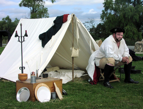 Commander (re-enactment), Courtesy of the Fairhaven Office of Tourism