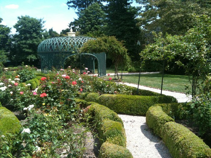 The gardens are a popular spot for weddings
