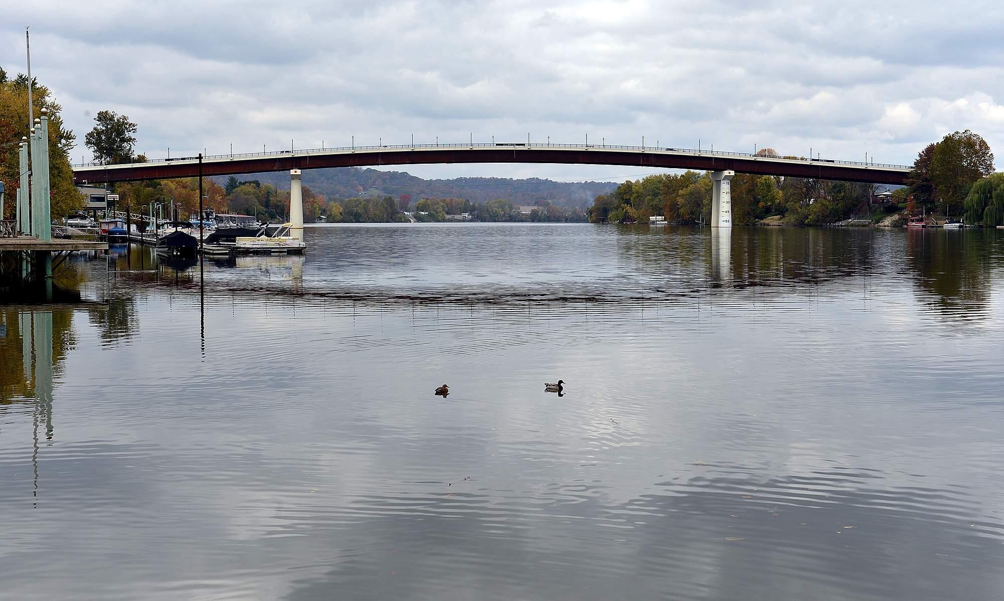 """The new """"Dick"""" Henderson Bridge"""
