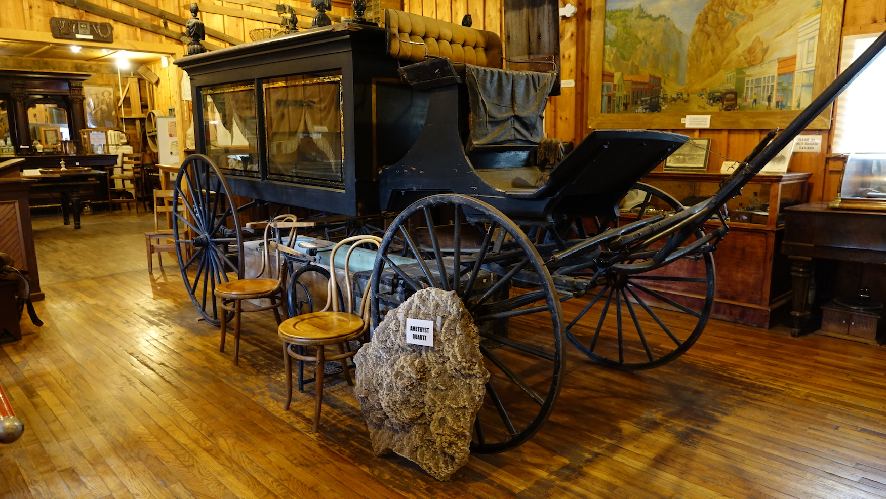Hearse @ Creede Historical Society Museum