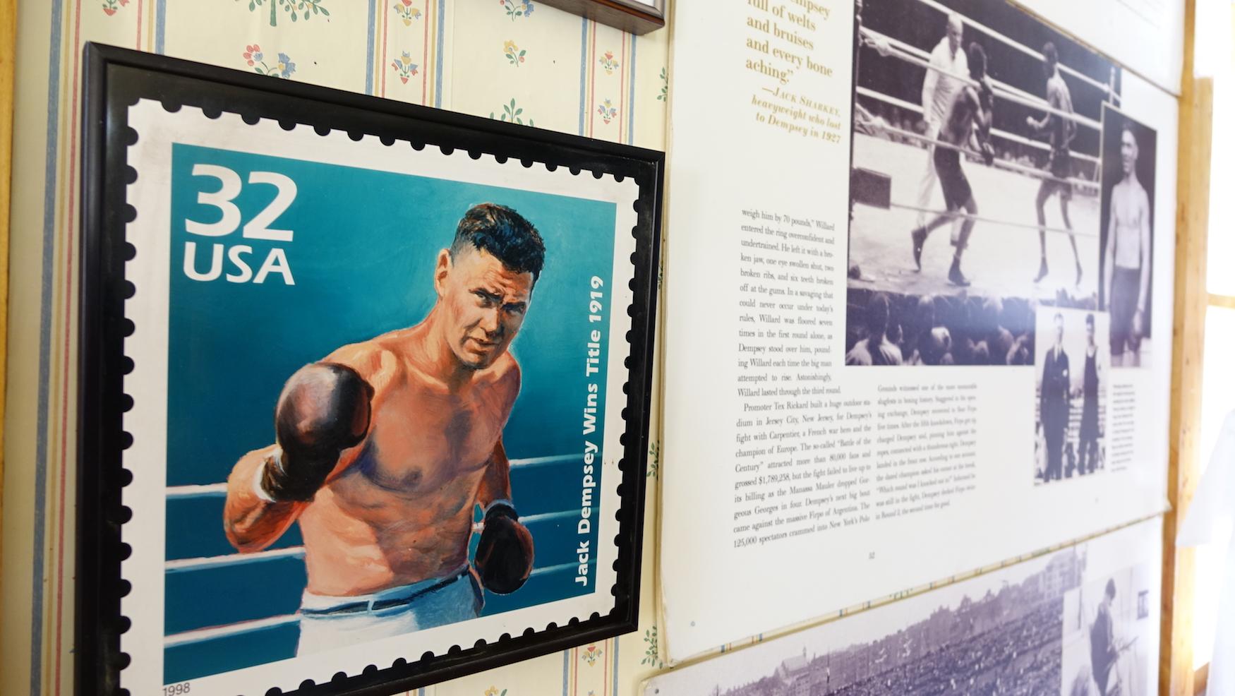 Jack Dempsey US stamp
