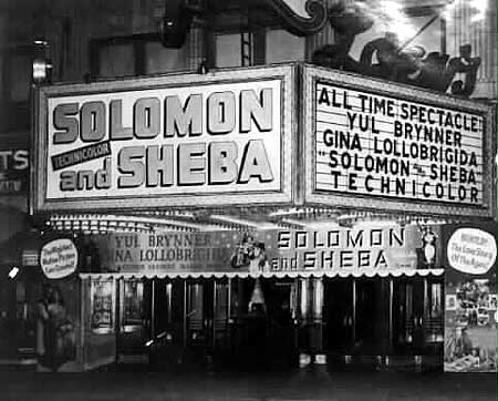 Marquee of Loew's State Movie Palace (image from PPAC official website)