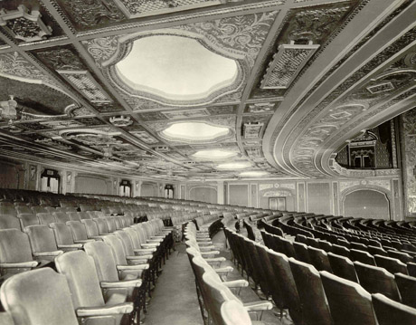Historic photo of the Movie Palace auditorium (image from PPAC official website)